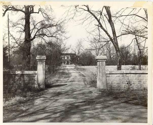 pre restoration outside of gate