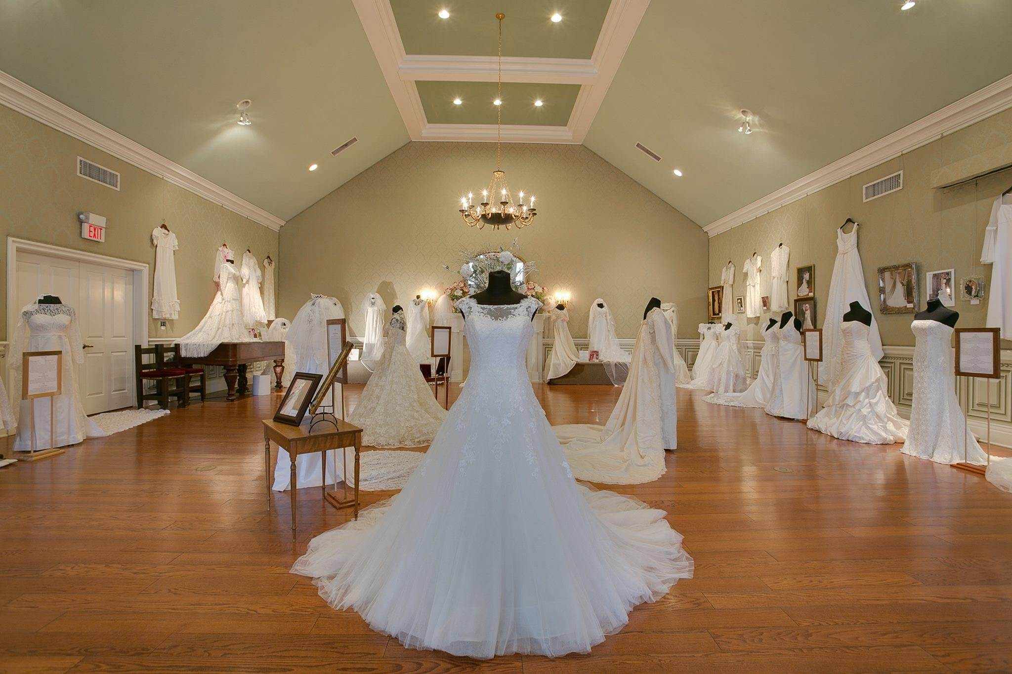 10th Anniversary of Wedding Dresses Through the Decades Exhibit<br>January 16-March 27
