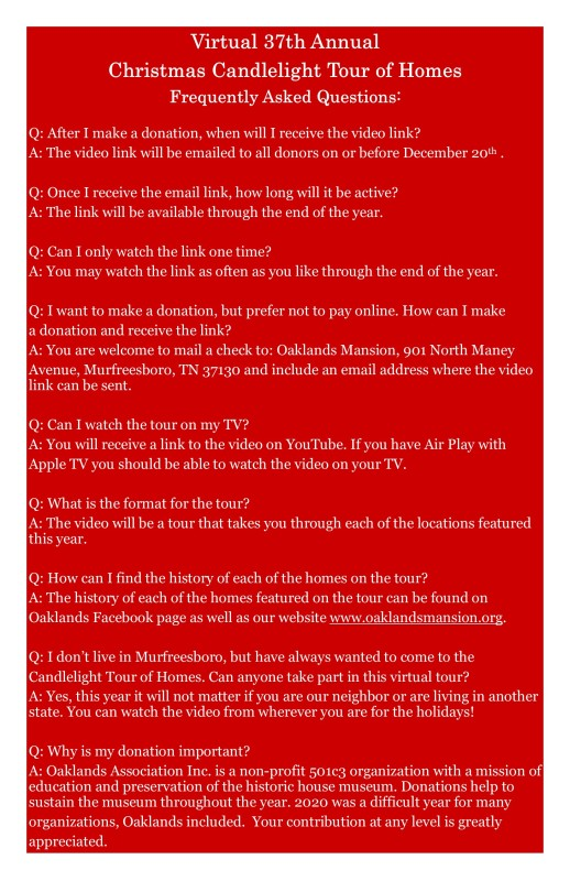 FAQ poster Red