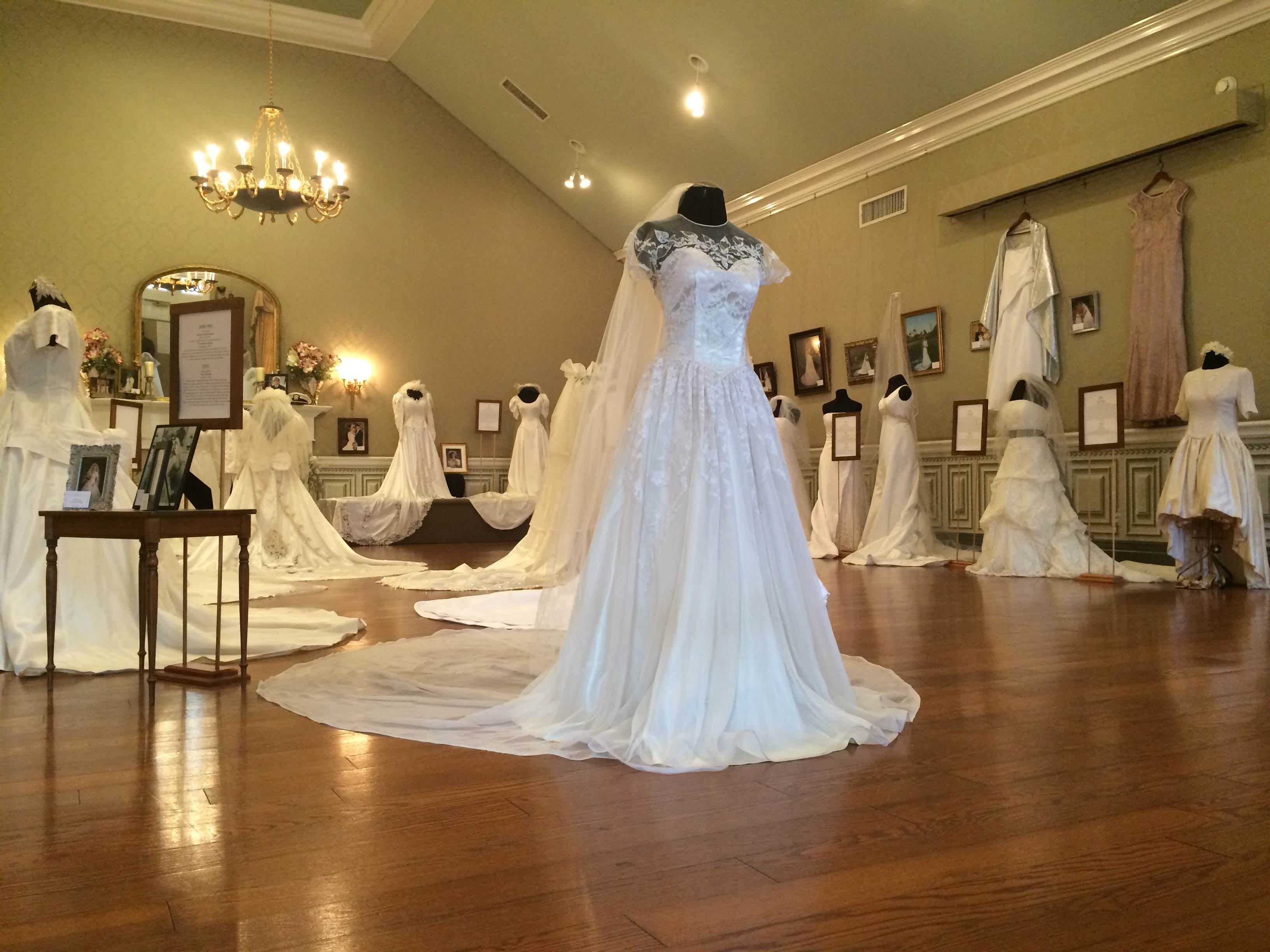 <br><br><br>Wedding Dresses Through the Decades Exhibit<br>January 21-March 5, 2017