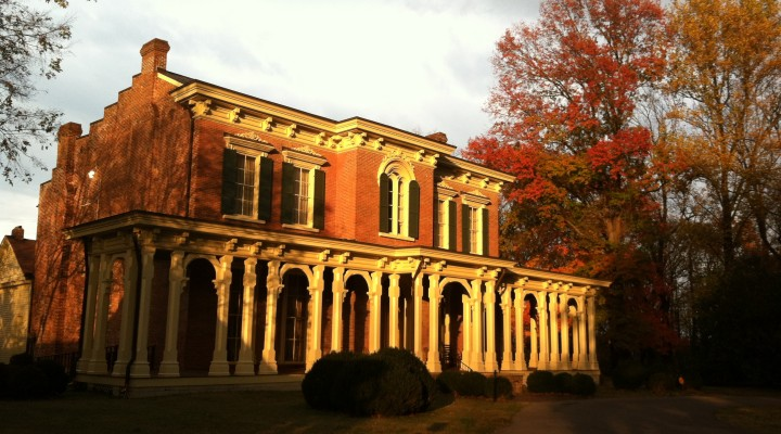 Autumn at Oaklands Mansion