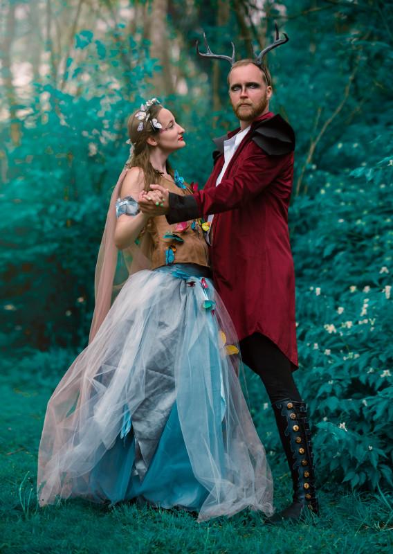 Emma Hamkins as Titania Alec Lanter as Oberon